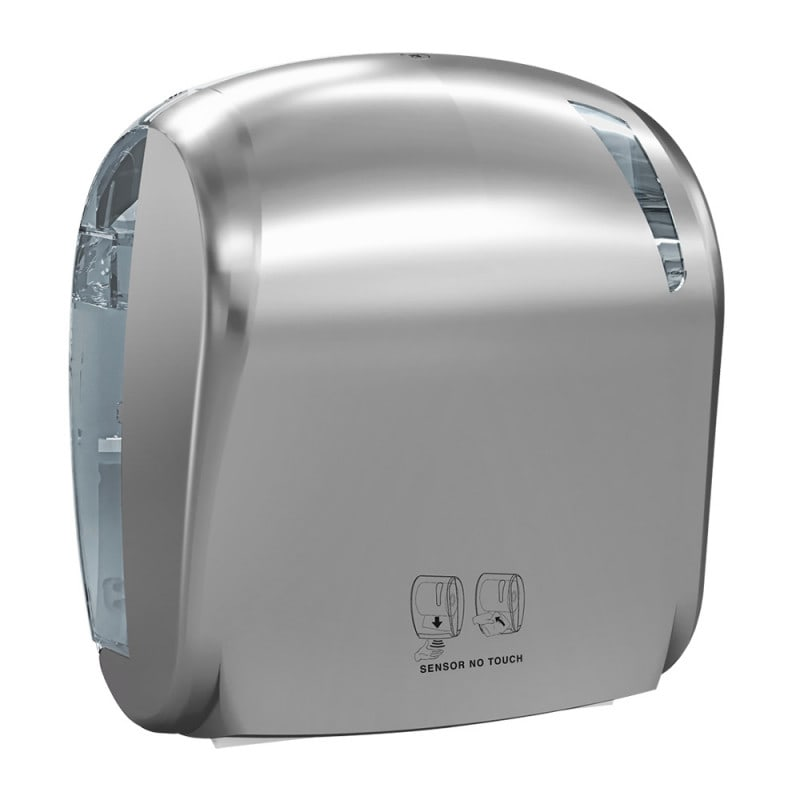 Dispensador de toallas desechables con sensor electrónico