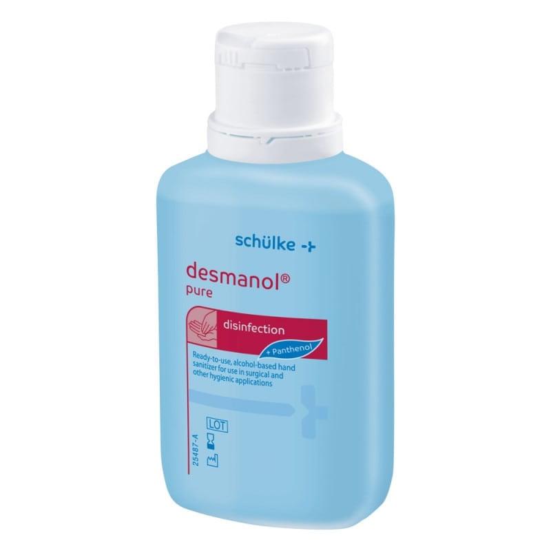 Desmanol Pure - Desinfectante para manos con ingredientes activos para el cuidado de la piel