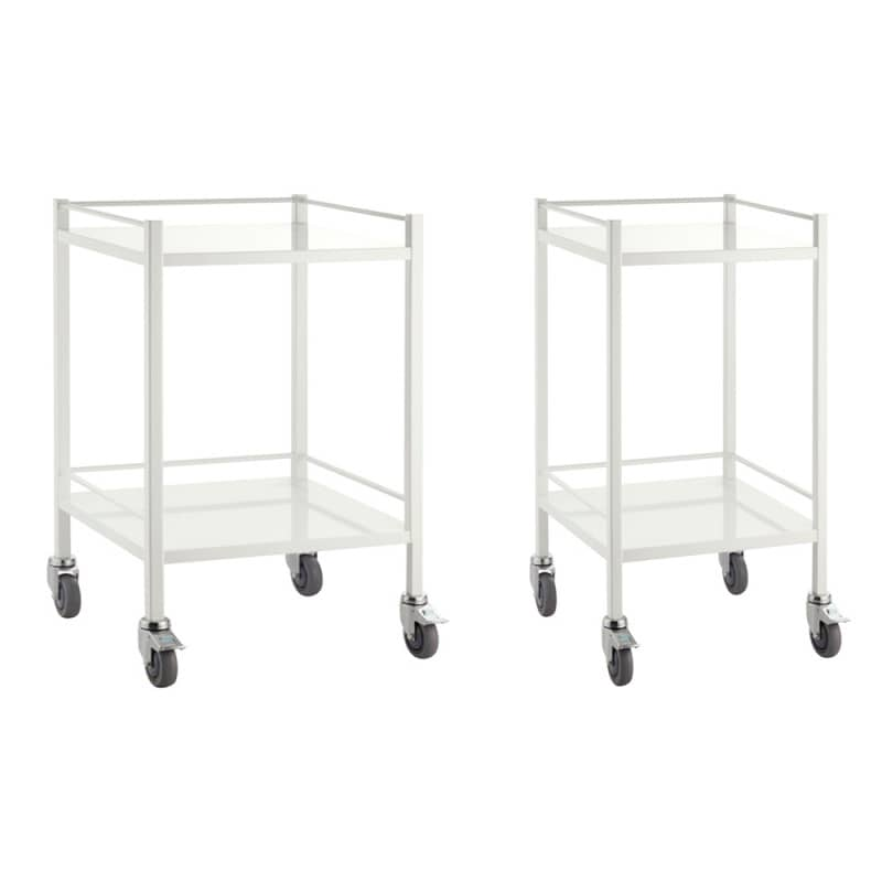 Teqler medical trolley, optionally available with 49 cm or 60 cm width