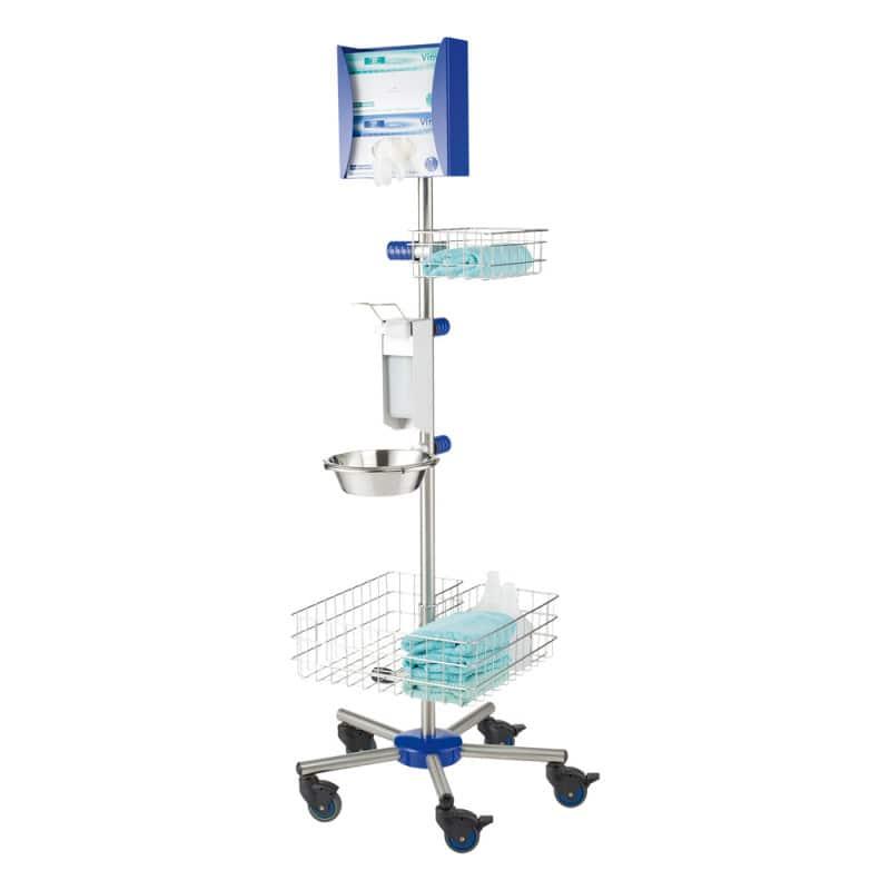Mobiel hygiënecentrum voor artsenpraktijken, ziekenhuizen en openbare instellingen