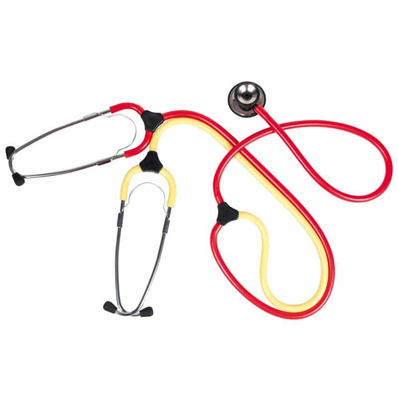 Schwestern-Lehr-Stethoskop «Duo» für 2 Personen