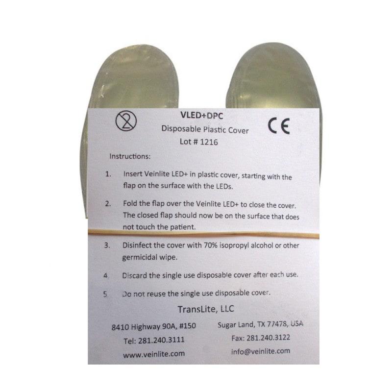 Cubiertas desechables para el Veinlite LED+