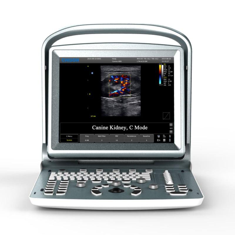 CHISON ECO5 VET Ultraschallgerät mit Farbdoppler für Tiere mit integriertem Akku