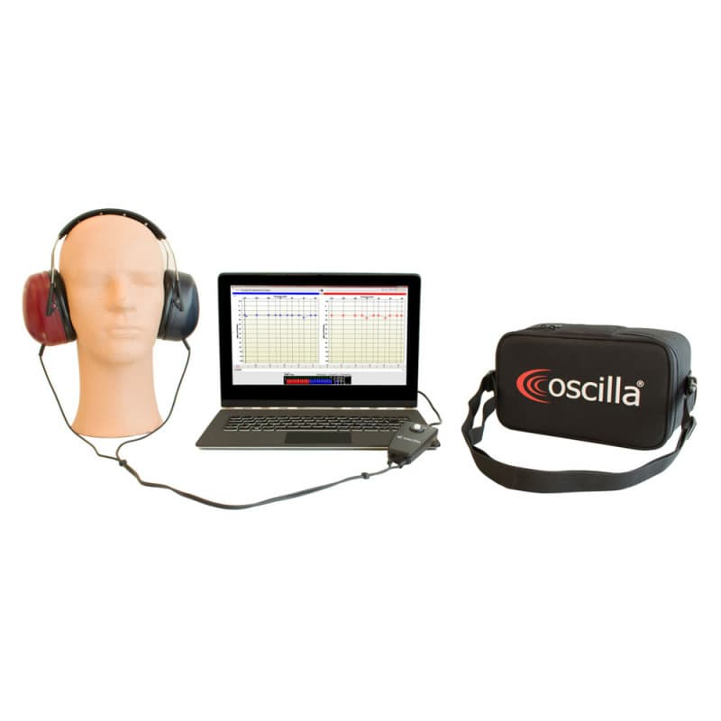Oscilla USB Audiometer | User friendly; available models: USB 310 or USB 330