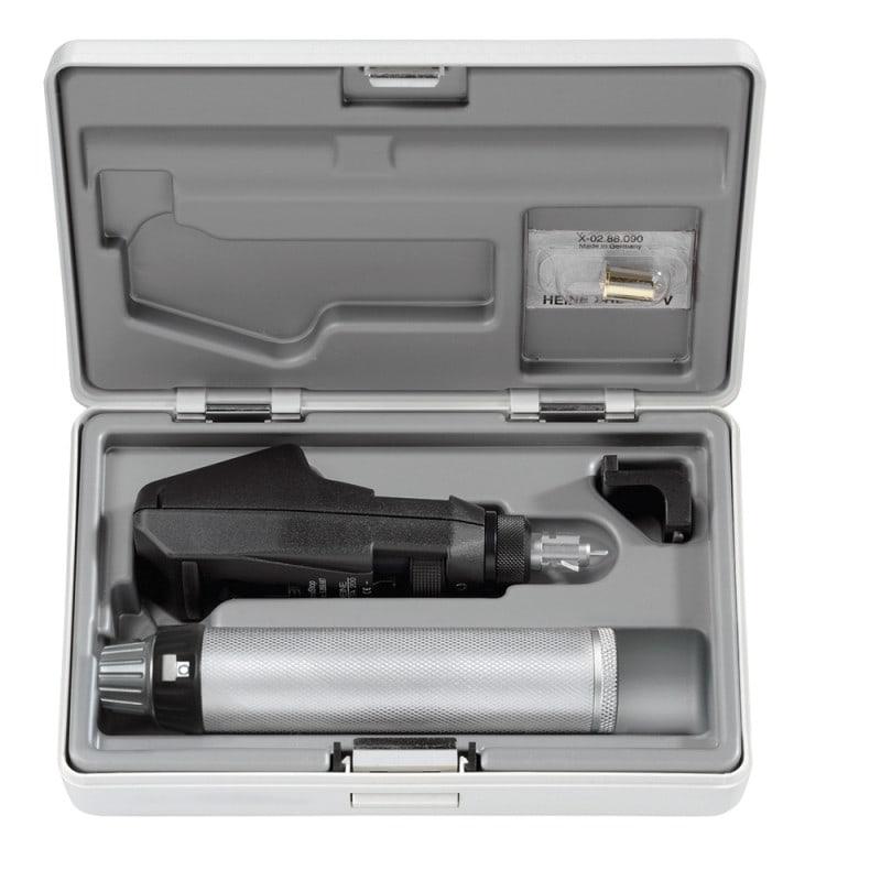 Heine Beta 200 Skiaskop-Set mit Halogen-Beleuchtung