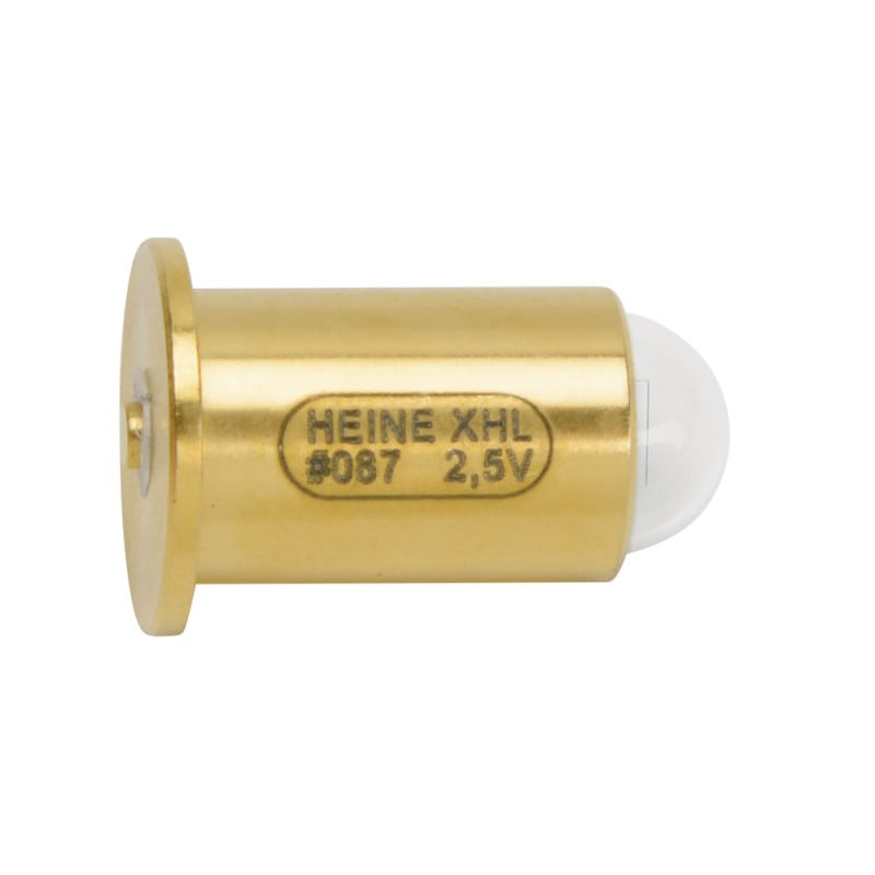 Heine XHL halogen replacement bulb; available as 2.5 V or 3.5 V bulb