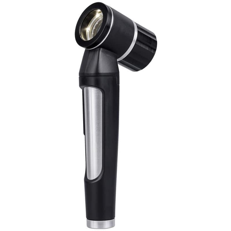 Luxascope Dermatoskop mit stabilem Handgriff in ergonomischer Bauform