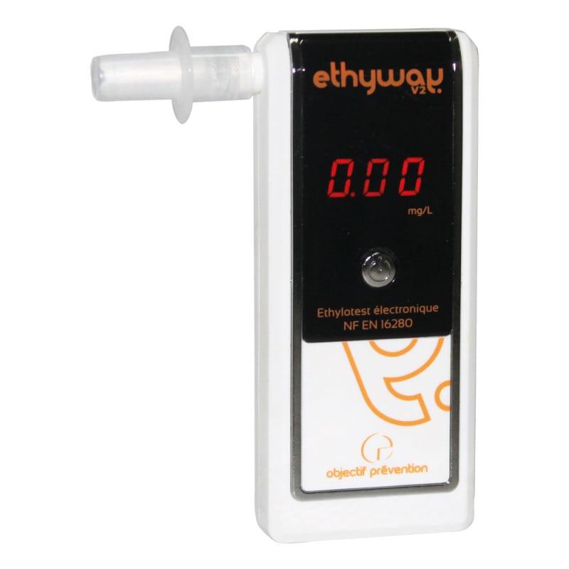 Alkoholmessgerät Ethyway V2 mit elektrochemischem Sensor