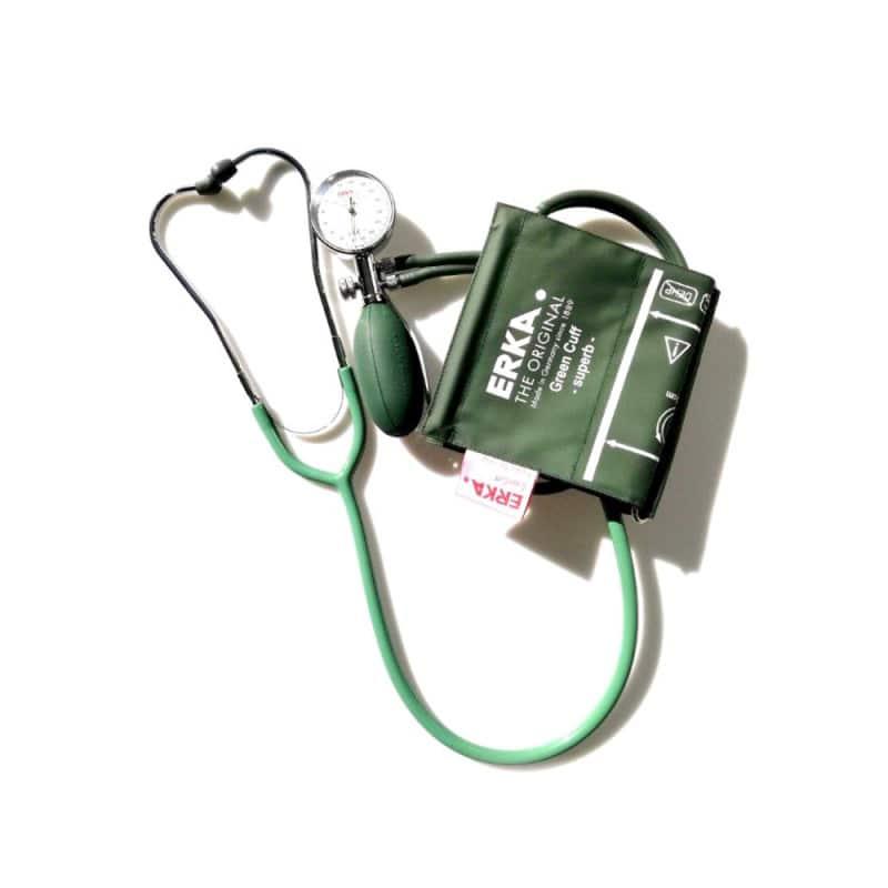 Dispositif d'autosurveillance de test, composé d'un tensiomètre