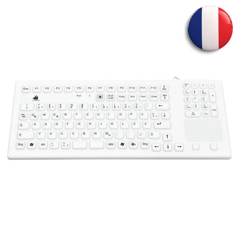 Wasserdichte Silikon-Tastatur mit Touch-Pad