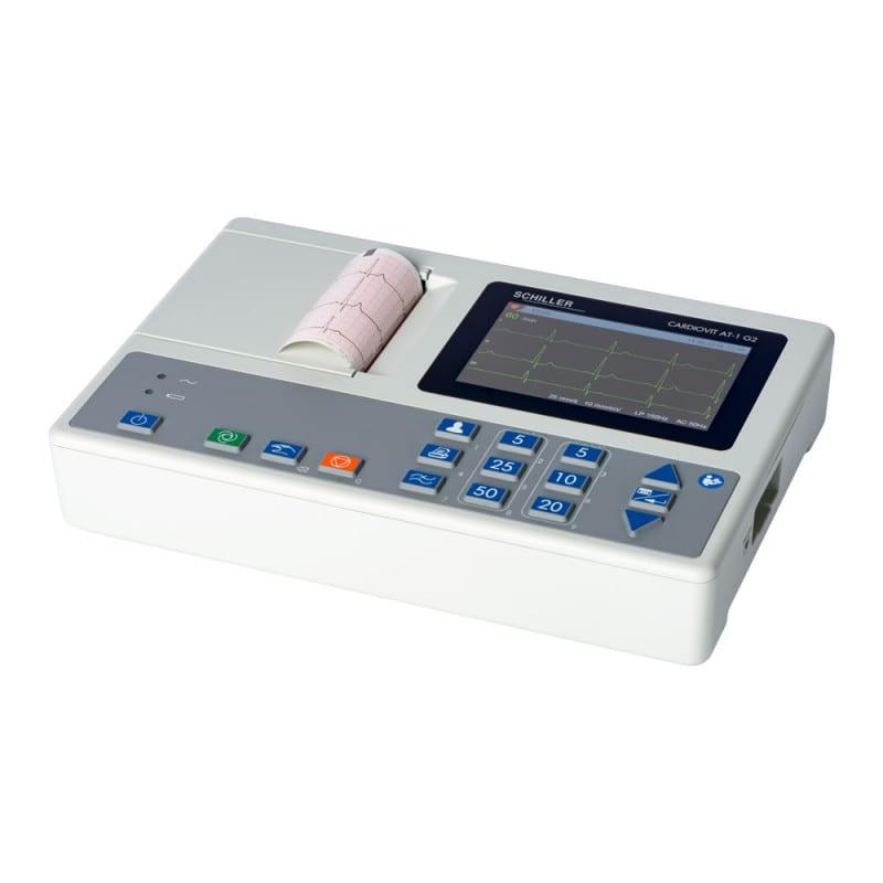 Schiller Cardiovit AT-1 G2 EKG-Gerät mit 5 Zoll Display und integriertem Thermodrucker