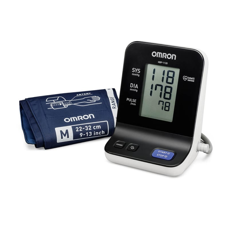 Tensiómetro OMRON HBP-1120 para mediciones auscultatorias y oscilométricas