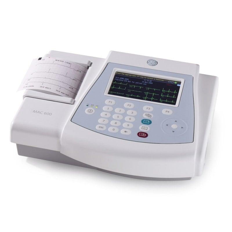 GE MAC 600 EKG-System mit integriertem Akku