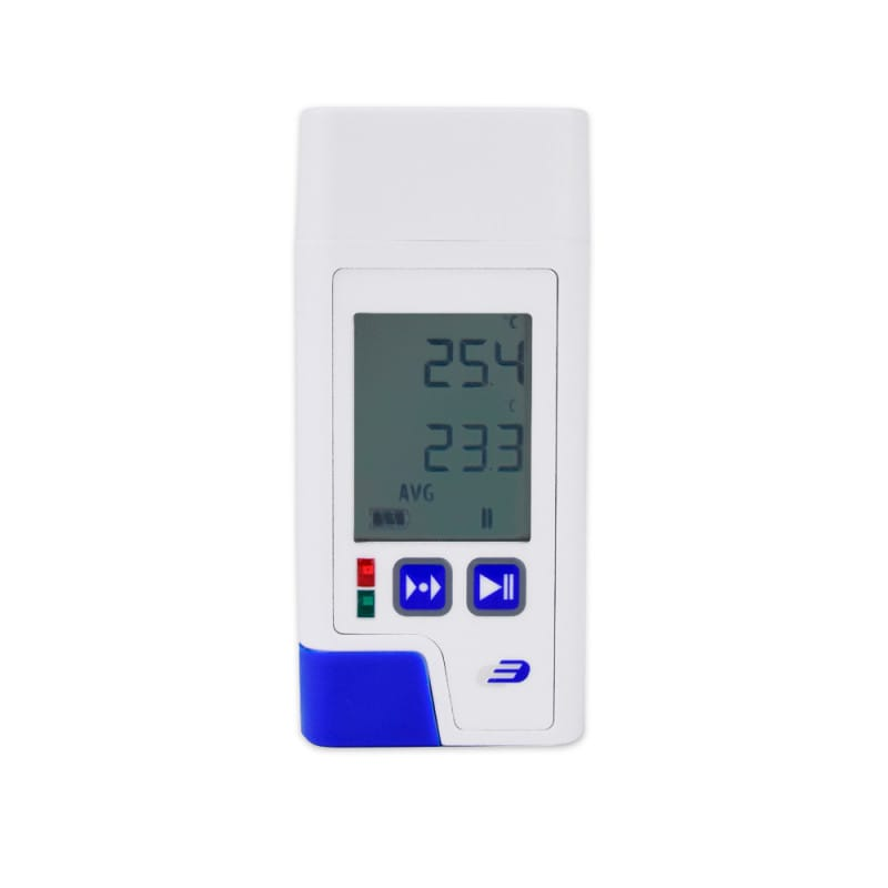 LOG 200 PDF data logger | Records medical fridge temperature in pre-set intervals