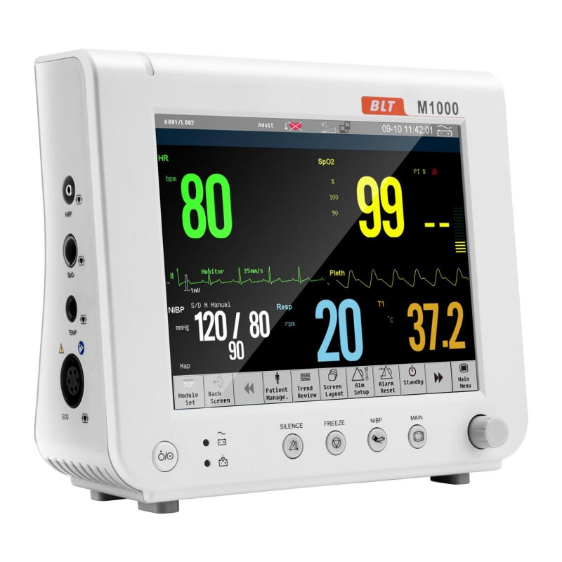 """Biolight M1000 Patientenmonitor mit 8"""" Farb-Touchscreen-Bildschirm"""