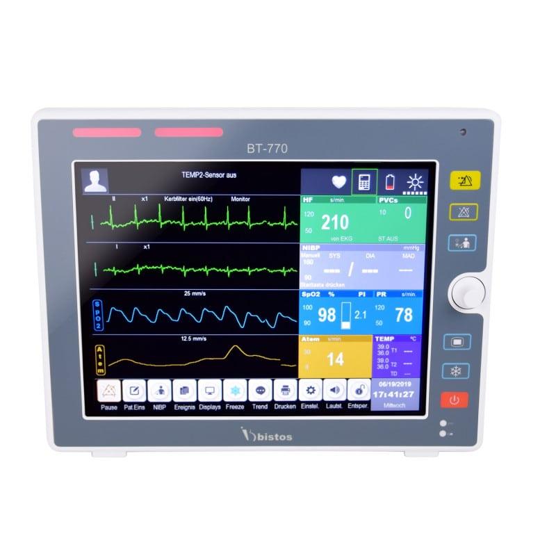 """Bistos Patienten-Überwachungsmonitor BT-770 mit 12,1"""" Farb-Touchscreen"""