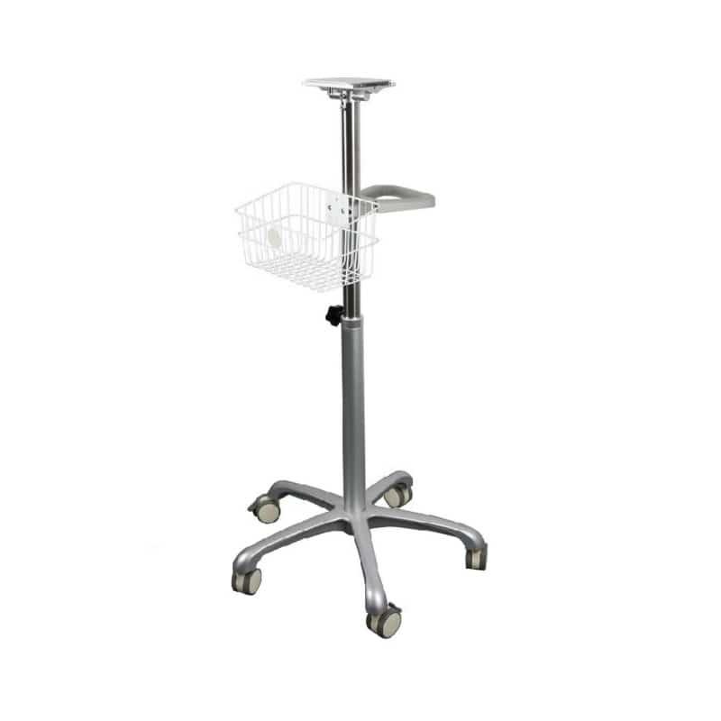 Rollstativ für die Bistos Patienten-Überwachungsmonitore BT 720/740/770