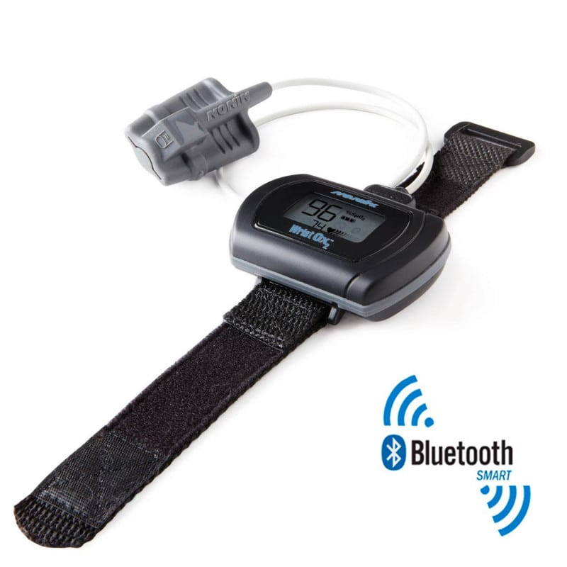 Nonin WristOx₂ 3150 wrist pulse oximeter with Bluetooth Low Energy