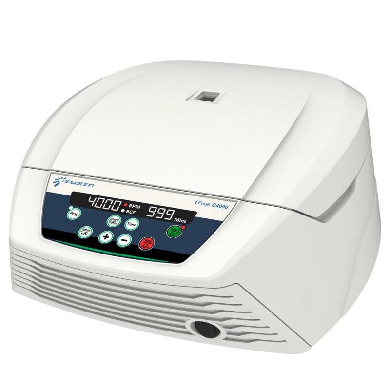 iFuge C4000 de Neuation, ideal para la centrifugación de muestras clínicas