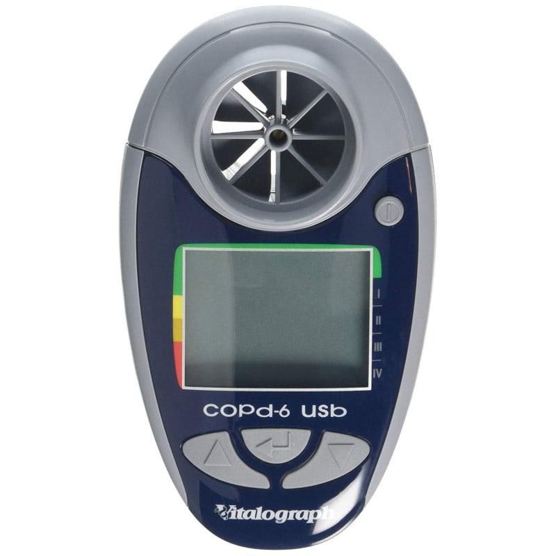 Dispositivo electrónico copd-6 de Vitalograph para detección de la EPOC