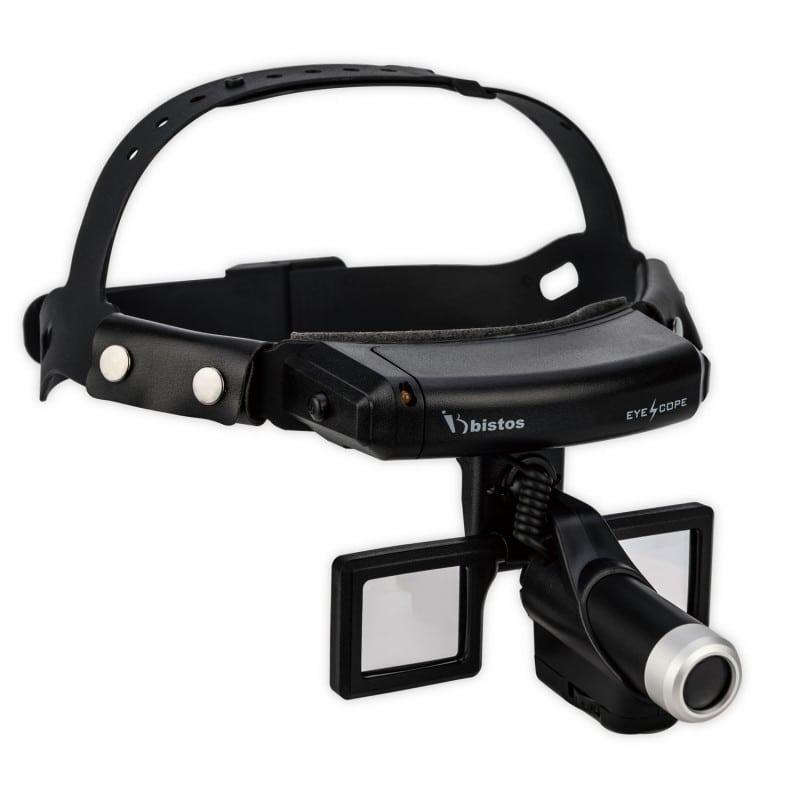 Bistos LED-Kopflampe 410F, besonders leuchtstark, optional mit Lupe erhältlich