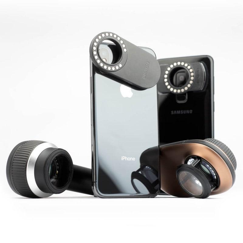 DermLite MagnetiConnect Kit - Adapterset für Smartphones und Tablets