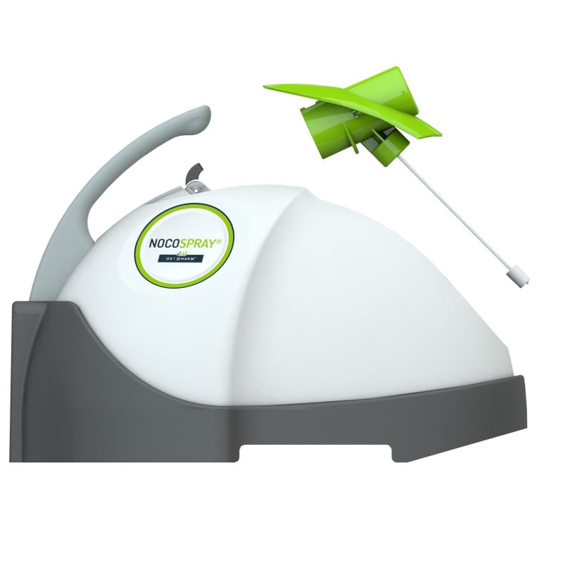 Nocospray 2 dry mist diffuser for reliable room disinfection
