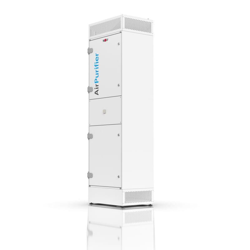 WOLF AirPurifier AP 1200: Sistema de desinfección del aire con ePM1 y filtro HEPA 14