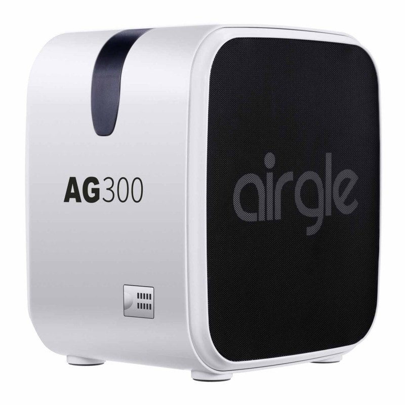 Airgle AG300 air purifier for rooms up to 14.4 m² in sizeLCD
