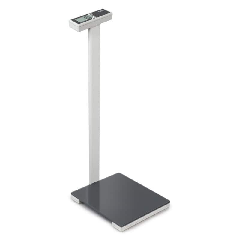 Báscula fitness Kern en diseño elegante y con superficie de pesaje en vidrio