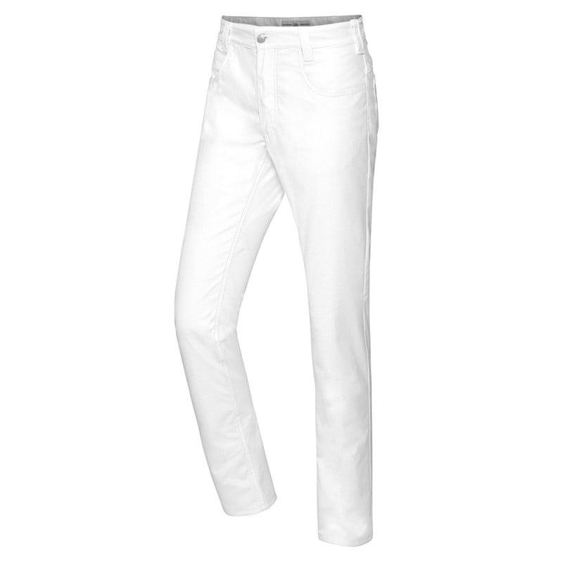 Pantaloni a sigaretta da uomo, modello a 5 tasche