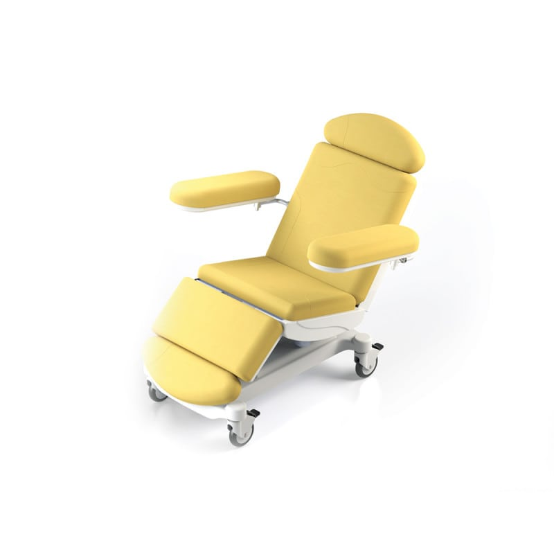 """Electronic phlebotomy and dialysis chair """"Micra"""" with 220 kg load capacity"""