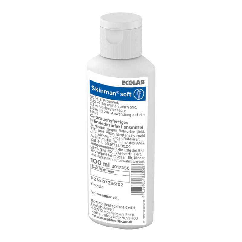 Skinman soft - desinfectante para manos, delicado con la piel