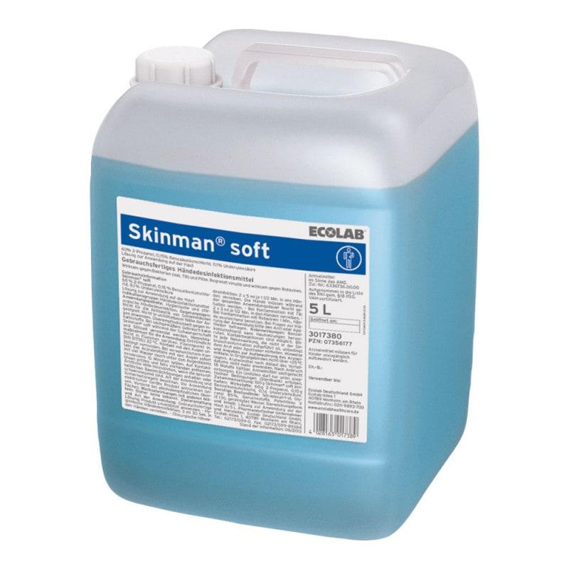 Skinman soft - Händedesinfektionsmittel mit Pflegestoffen