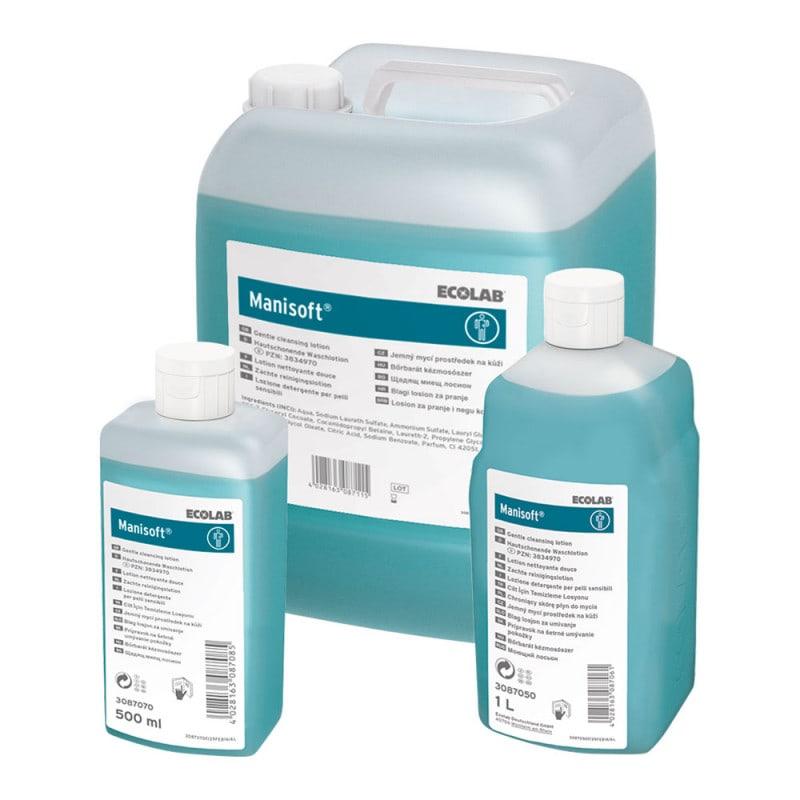 Lotion lavante Manisoft pour un nettoyage en douceur et en profondeur de la peau et des mains