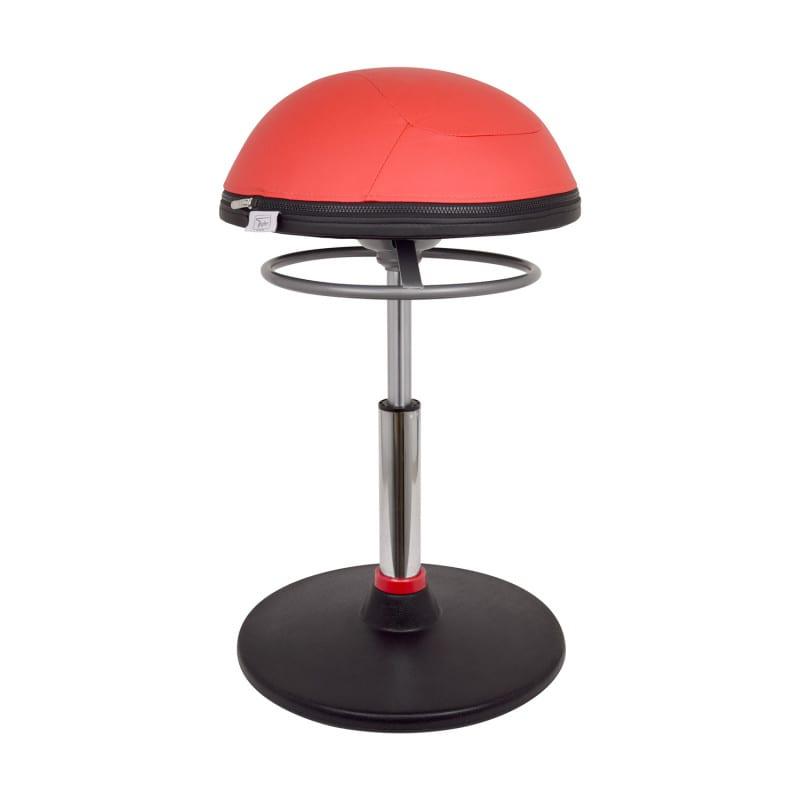 Taburete ergonómico Teqler con asiento basculante