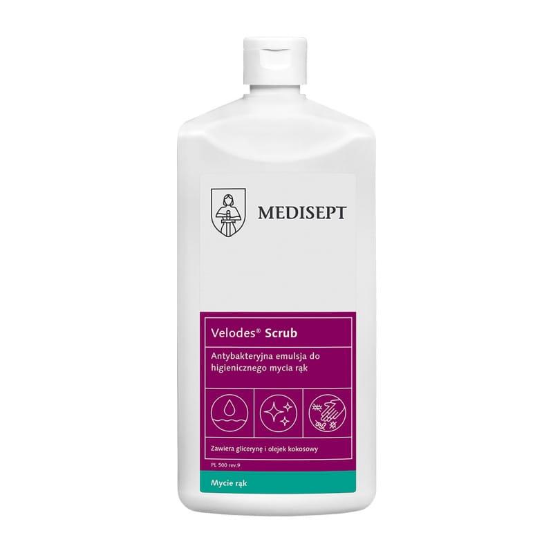 Velodes Scrub antibakterielle Waschlotion zur sanften Hand- und Körperreinigung
