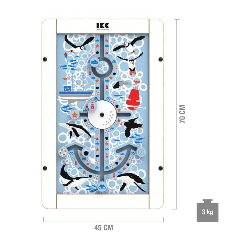 IKC Spielplatte «Anker» in maritimen Design
