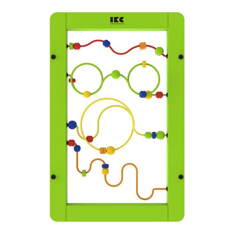 IKC Spielmodul «Perlen-Spiel», schult die Feinmotorik