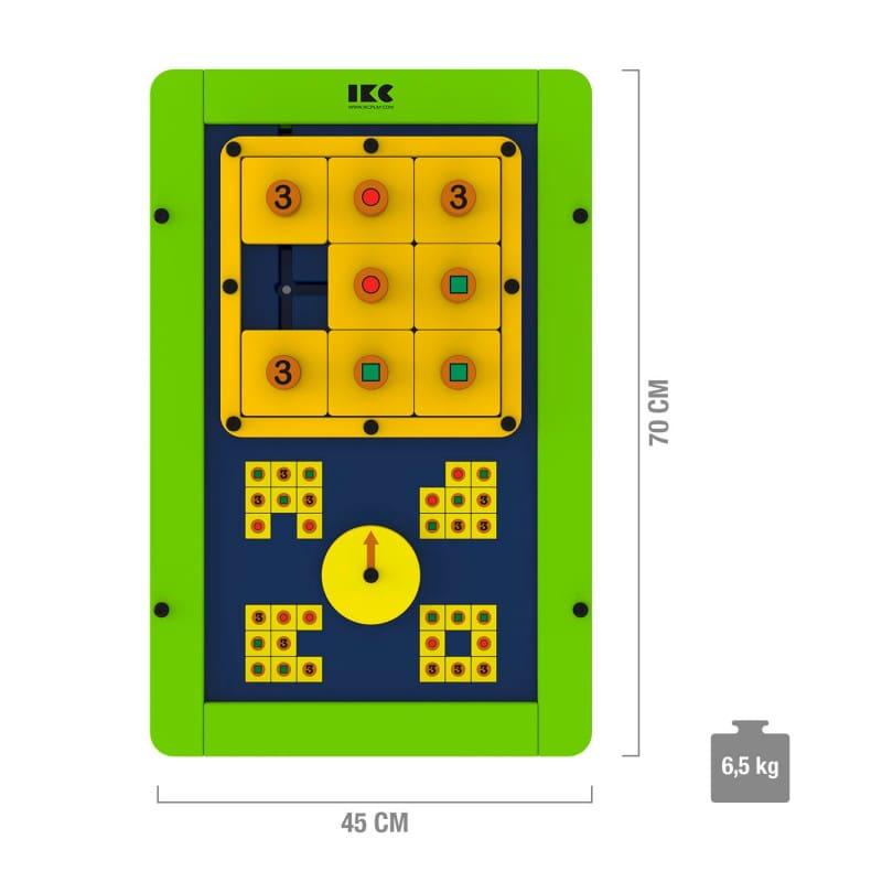IKC Spielmodul «Logik im Quadrat» - schult das logische Denken
