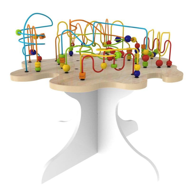 Spieltisch «Perlenbaum» zum spielerischen Trainieren der Feinmotorik