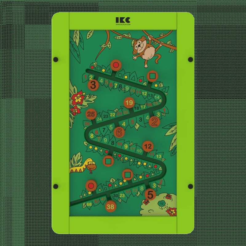 IKC Spielmodul «Dschungel-Fieber» aus Buchenholz