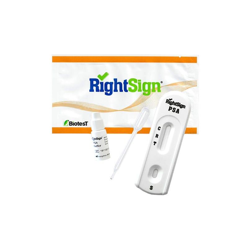 RightSign PSA-Test zum semi-quantitativen Nachweis des Prostata-spezifischen Antigens