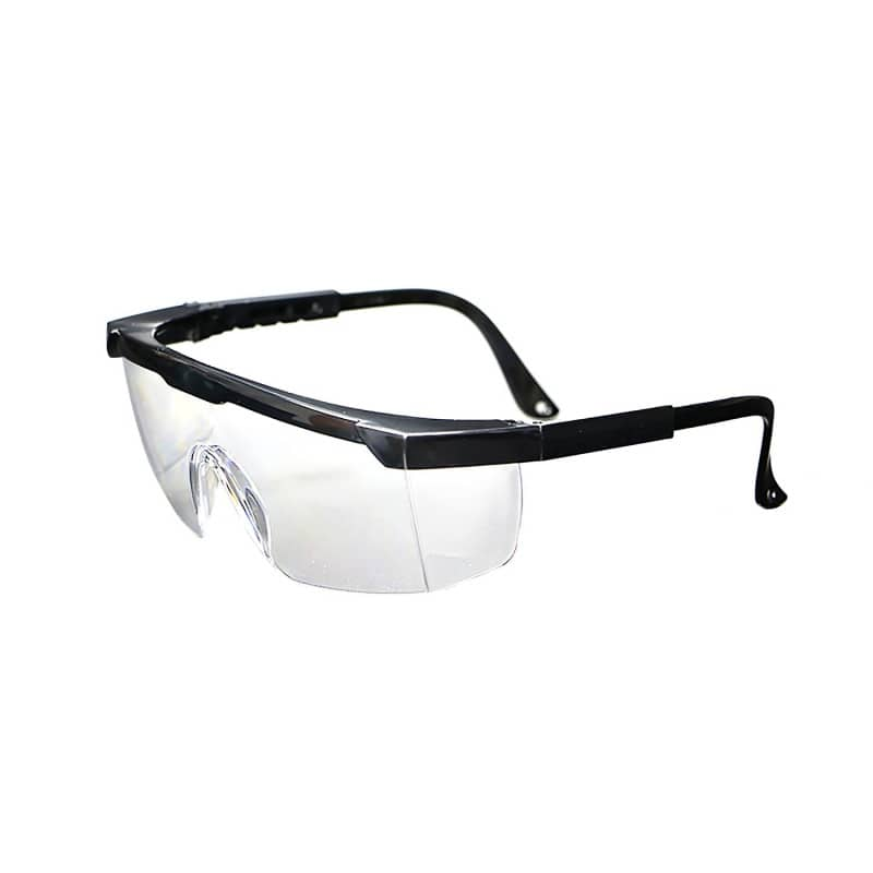 Protective glasses with side shields
