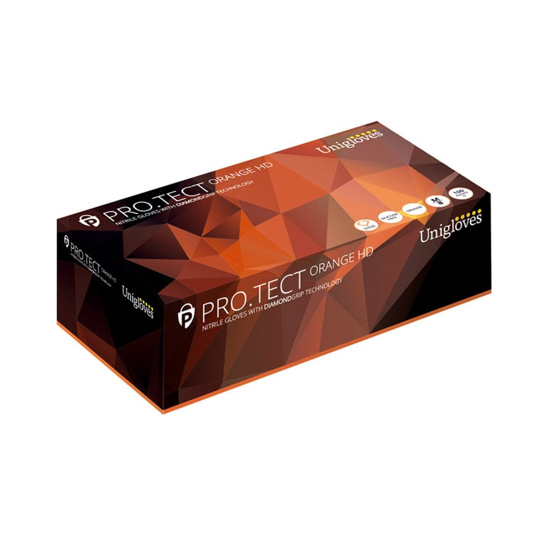 Unigloves Protect Nitrilhandschuhe mit hoher Griffsicherheit
