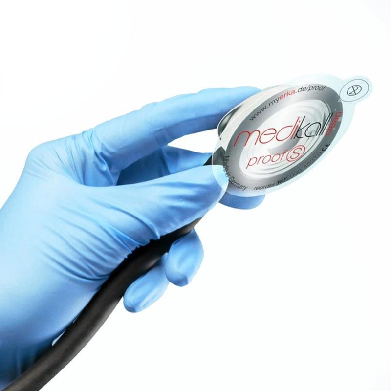 ERKA Proof S adesivi per la protezione igienica dello stetoscopio