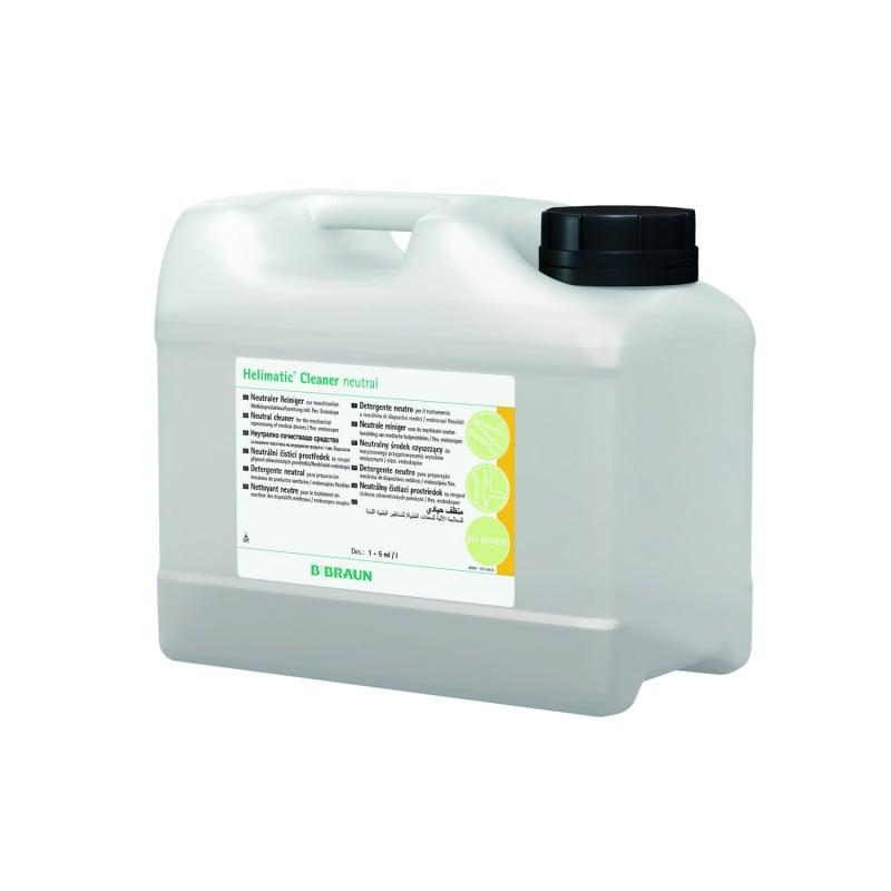 Helimatic Cleaner neutral zur maschinellen Reinigung in Reinigungs- und Desinfektionsautomaten