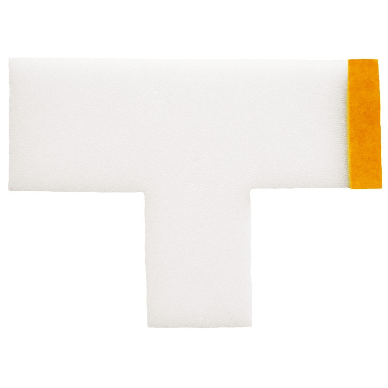 Vendaje estéril Ligasano para dedos en forma de T y con tira adhesiva para su fijación