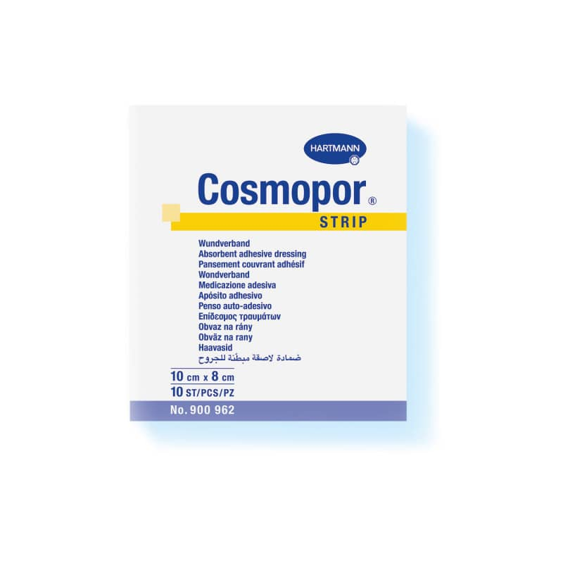 Cosmopor Strip dressing strips, 10cm long