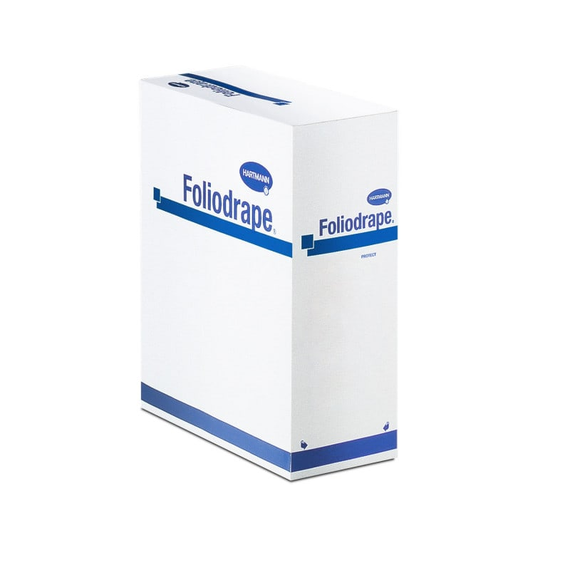 Liquid and germ impermeable Foliodrape Protect surgical drapes
